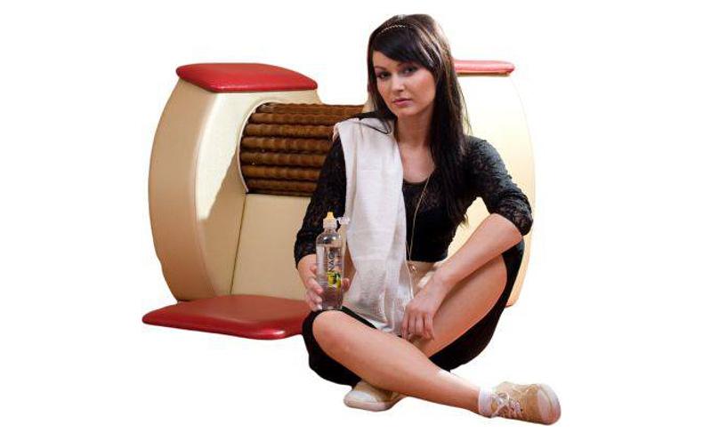 Masaż relaksująco-odchudzający: rolki z podczerwienią